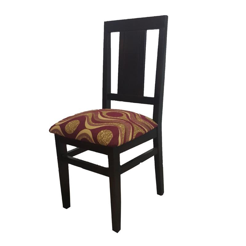 Juego de comedor mesa con 6 sillas tapizadas modernas gh for Sillas de comedor tapizadas modernas