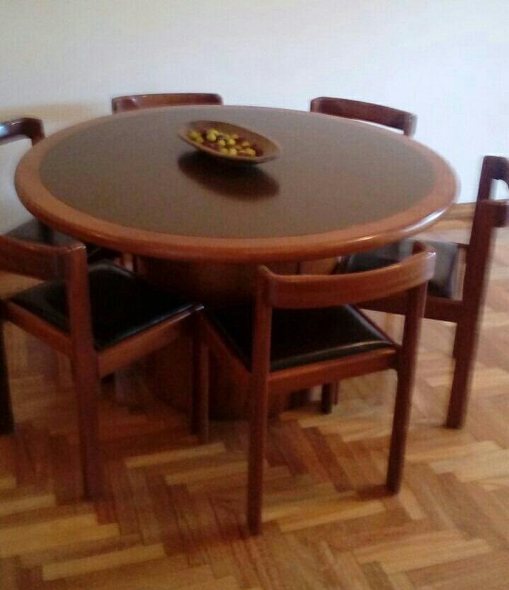 Comedor mesa redonda