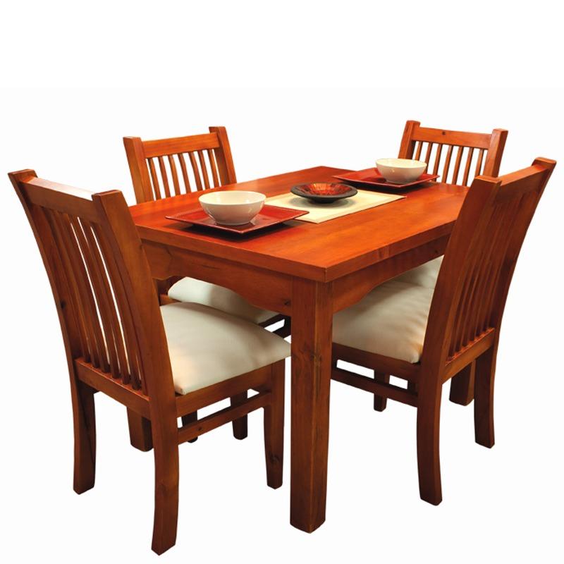 Juego de comedor mesa y 4 sillas variedad de modelos gh en mercado libre for Comedor 4 sillas madera