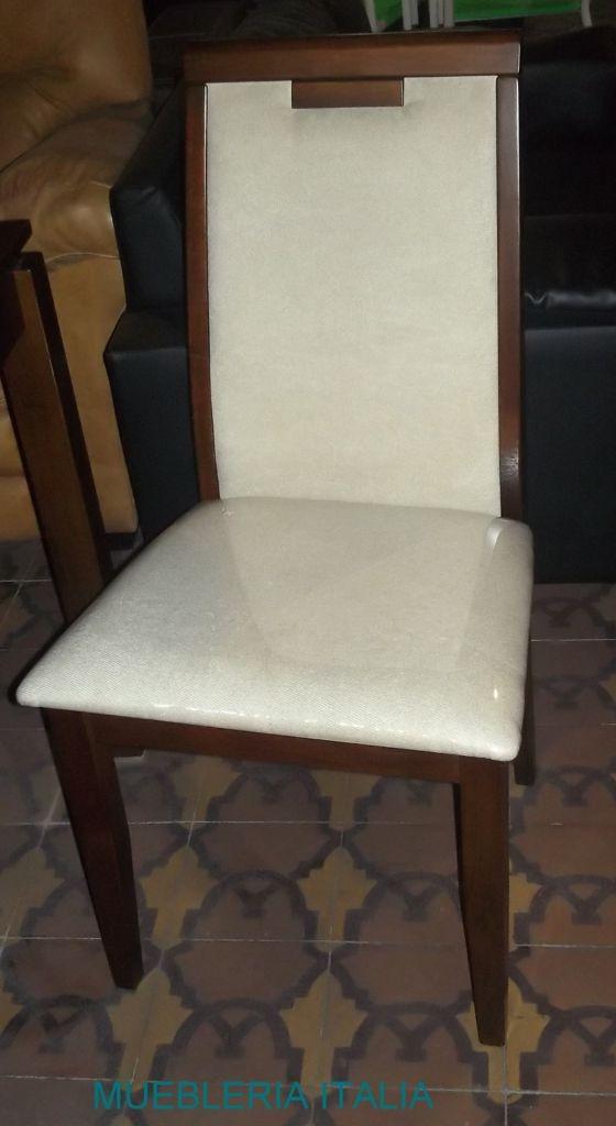 Juego de comedor mesa y 6 sillas comedores living sillas - Mesa comedor 6 sillas ...