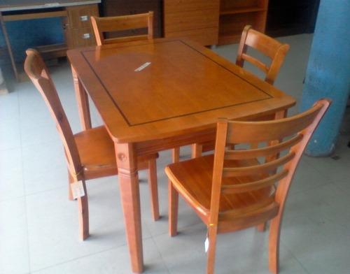 Juego de comedor moderno 4 sillas nuevo bs for Comedor 4 sillas moderno