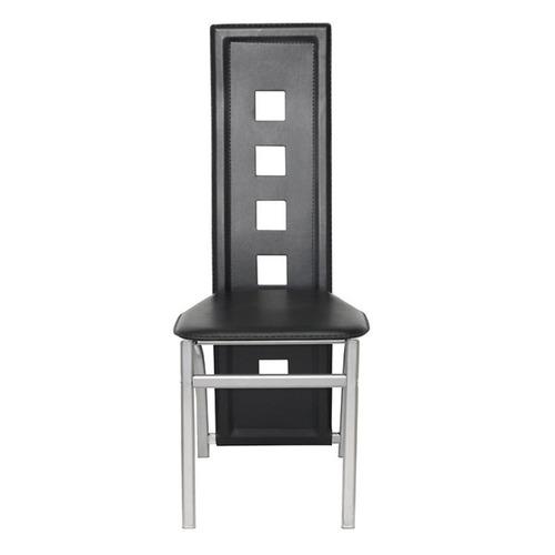 juego de comedor moderno 6 sillas, vidrio temperado 8mm