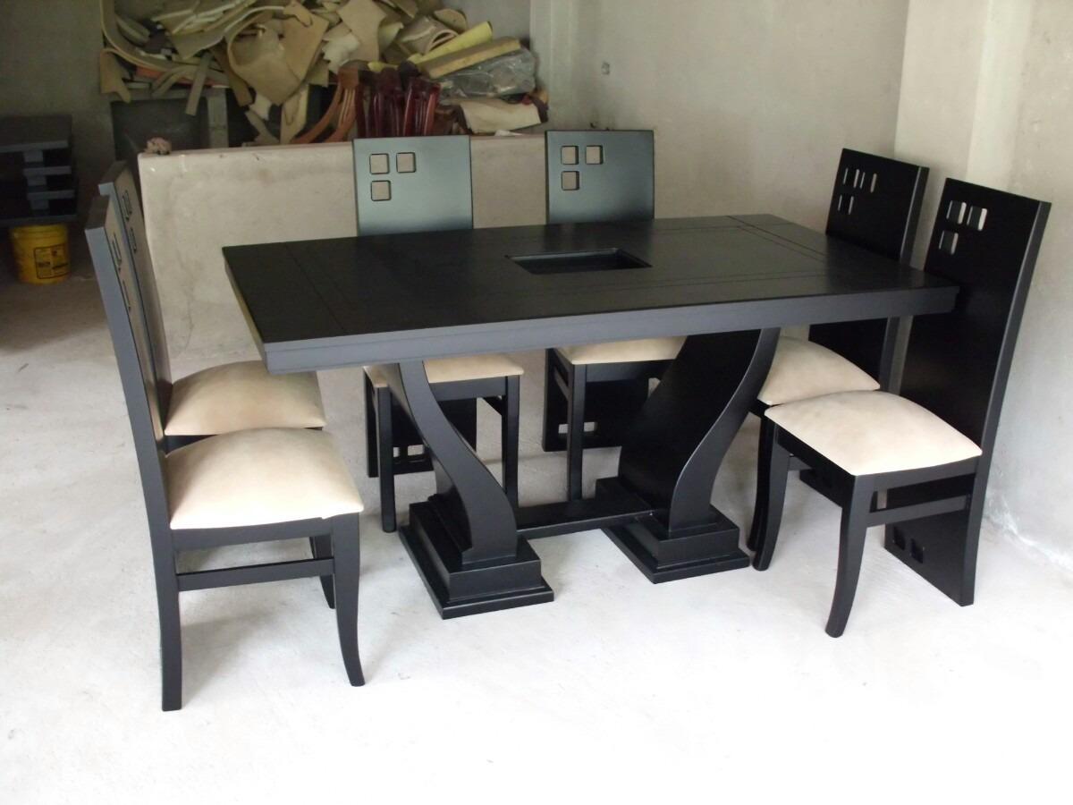 Muebles colineal juegos de comedor 20170724162004 for Comedores modernos de madera 2016