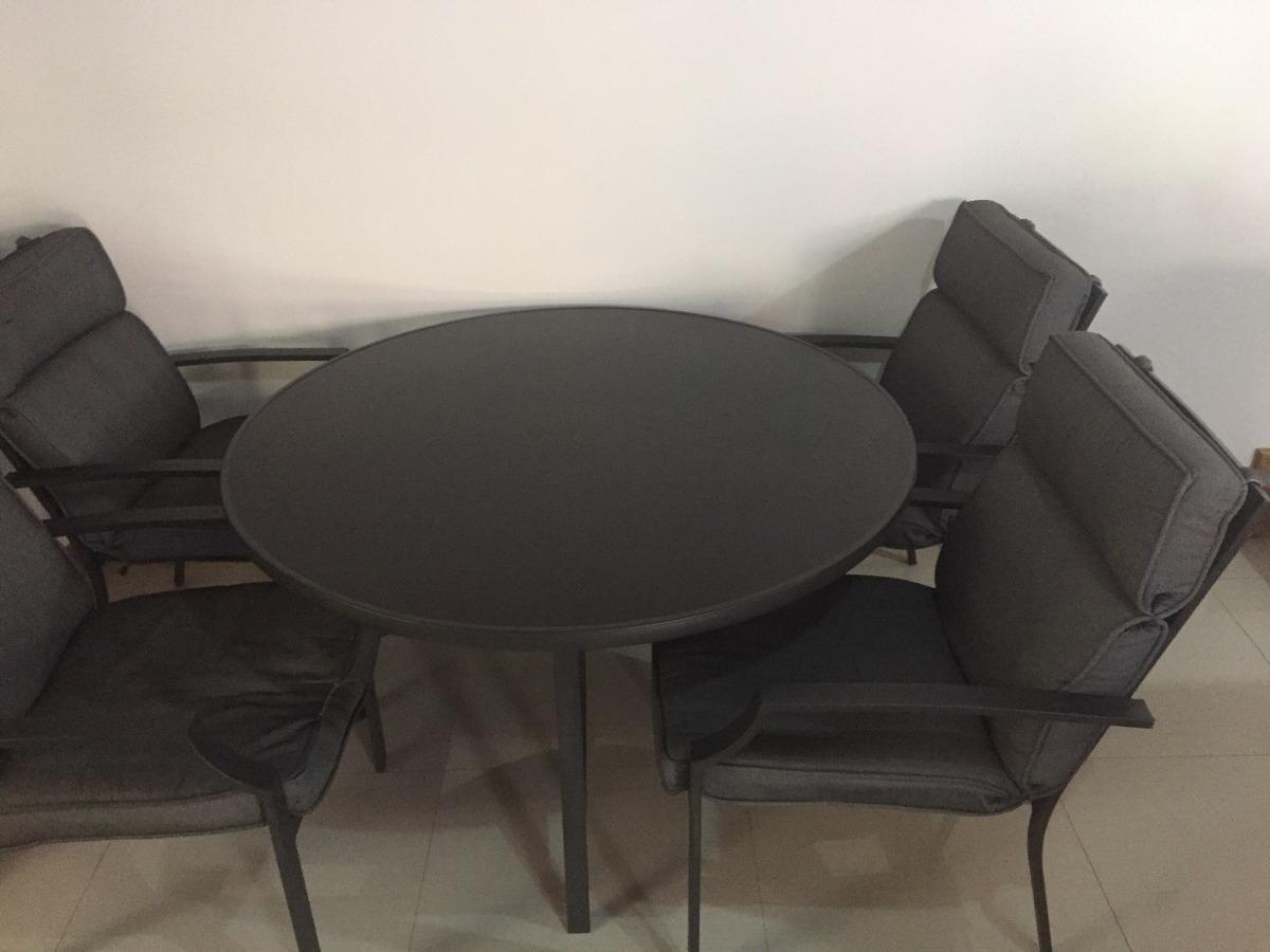 Juego De Comedor Para Terraza O Interior - ¢ 130,000.00 en Mercado Libre