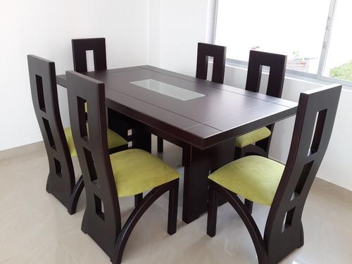 juego de comedor seis sillas - en oferta