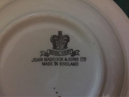 juego de compotera inglesa john maddock & sons.