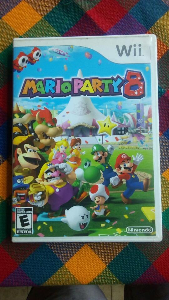 Juego De Consola Wii Marioparty 8 Bs 17 00 En Mercado Libre
