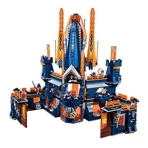 juego de construcción lego nexo knights knighton castle 70