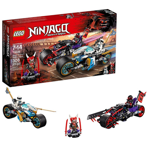 juego de construcción lego ninjago street race of snake jag