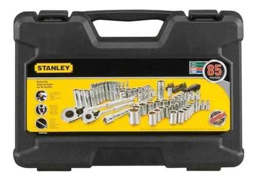 juego de copas 85 piezas 1/4 a 3/8 pulg stanley stmt71651