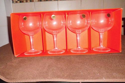 juego de copas de cristal d' arques grande