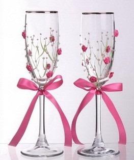 juego de copas para bodas y xv a os en mercado