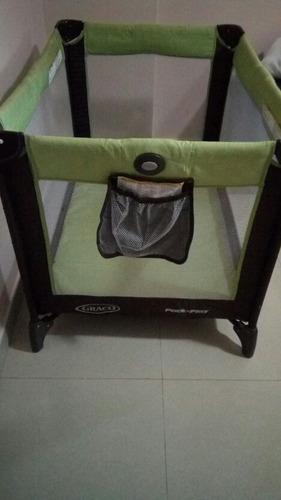 juego de corral y silla para bebé graco