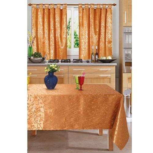 juego de cortinas 2 paños raso  arrayanes  cocina o ambiente