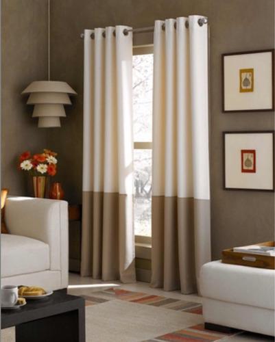 juego de cortinas 2,70 largo- importadas usa similar ikea
