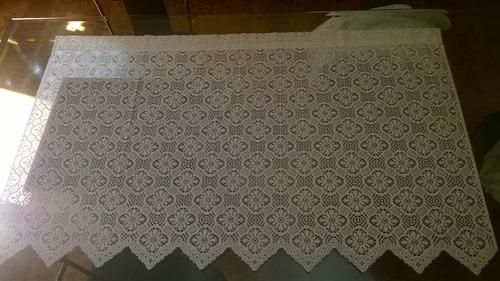 juego de cortinas blancas importadas sin usar