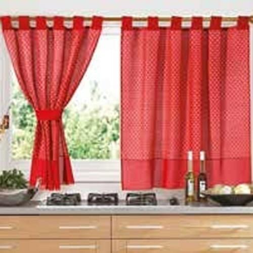 juego de cortinas cocina 2 paños fg kitchen