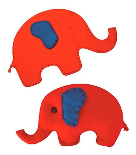 juego de costura didactico elefante peluche p coser infantil
