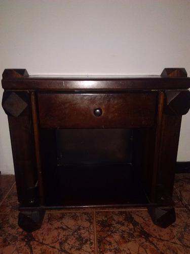 juego de cuarto individual de madera