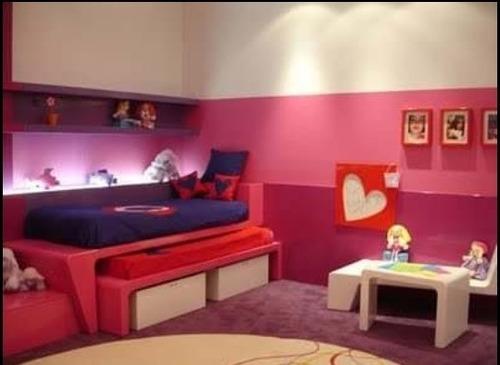 juego de cuarto  infantil para niños y niñas