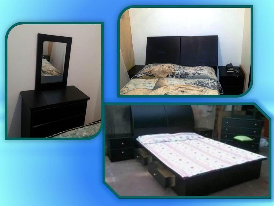 Juego de cuarto matrimonial dormitorio moderno copete - Baul para dormitorio ...