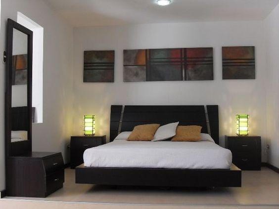 Juego de cuarto moderno bs en mercado libre for Juego de habitacion moderno