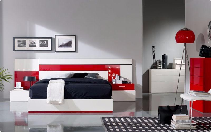 Juego de cuarto moderno cama matrimonial queen king bs for Juego de cuarto queen size