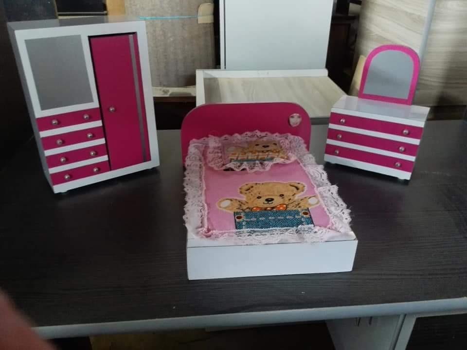 Juego De Cuarto Para Munecas Barbie Bs 1 275 00 En Mercado Libre