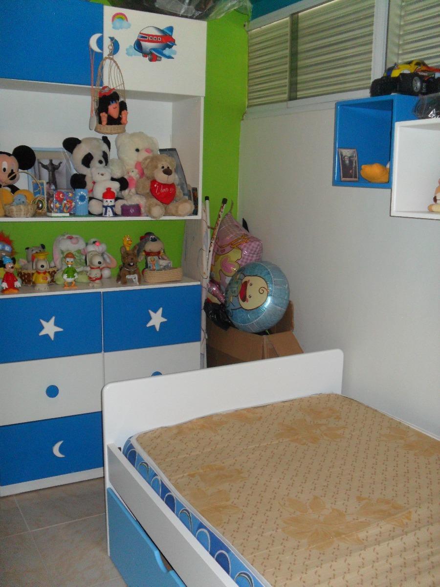 Juego de cuarto para ni os bs 500 00 en mercado libre for Como decorar habitaciones de ninos