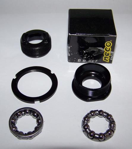 juego de cubetas neco y munición para caja de centro 34.8mm