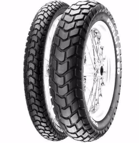 juego de cubiertas pirelli mt 60  honda bros xr 125 rpm1240