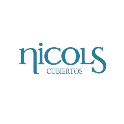 juego de cubiertos nicols 1040 acero inoxidable, set x 30