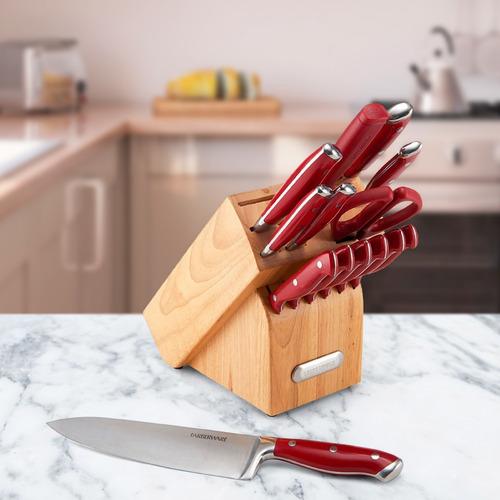 juego de cuchillos acero inoxidable 15 piezas farberware®
