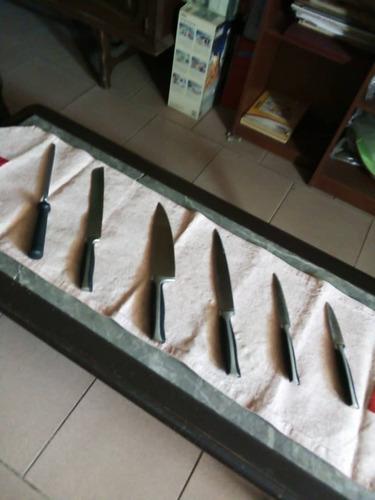juego de cuchillos renaware 7 piezas (125 vds) (nuevo)