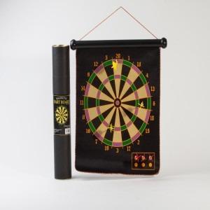 juego de dardos magneticos x6 tiro al blanco tubo enrollable
