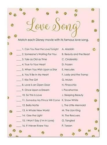 juego de despedida de soltera de 24 canciones cnt love song