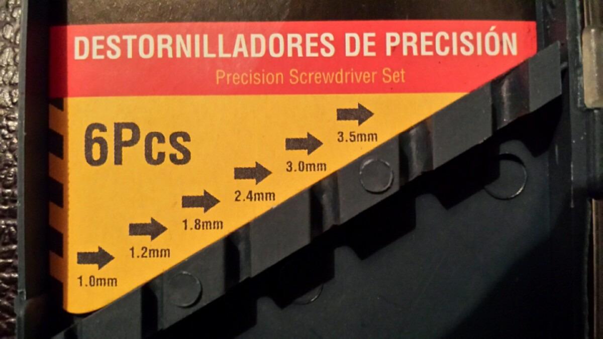 Juego de destornilladores de precisi n bs en - Destornilladores de precision ...