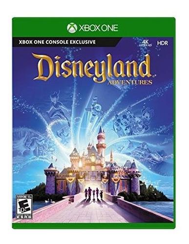 juego de disneyland adventures  xbox one