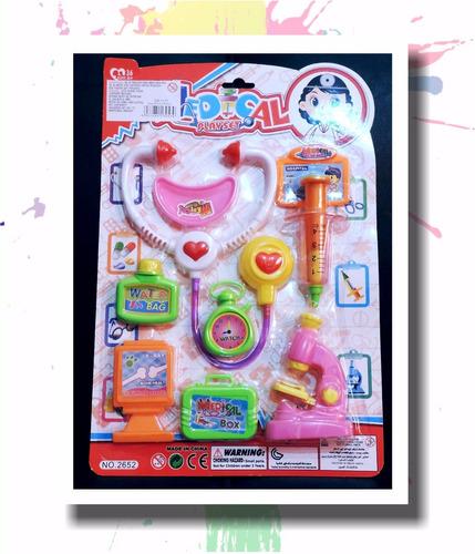 juego de doctor ,varios accesorios