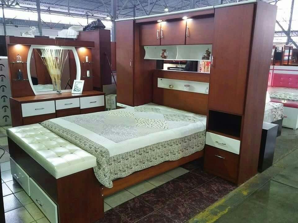 Juego de dormitorio s en mercado libre for Muebles de dormitorio lima