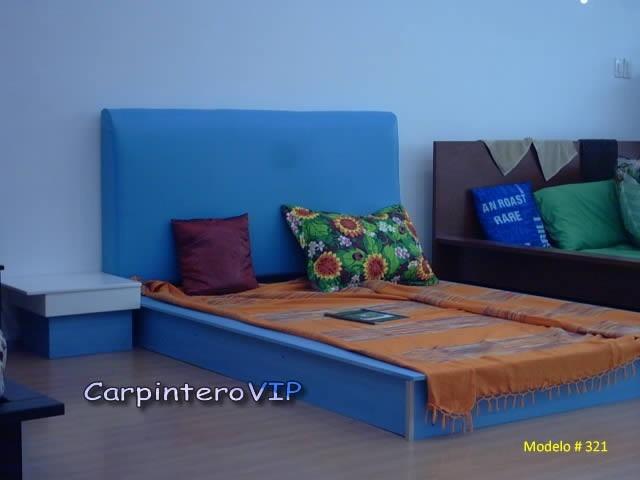 Juego de dormitorio camas estilo minimalista dise o for Juego de dormitorio queen