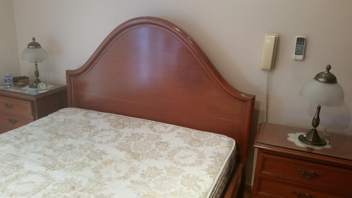 Juego De Dormitorio Comp 2 Plazas De Cedro - Colonial Ingles ...