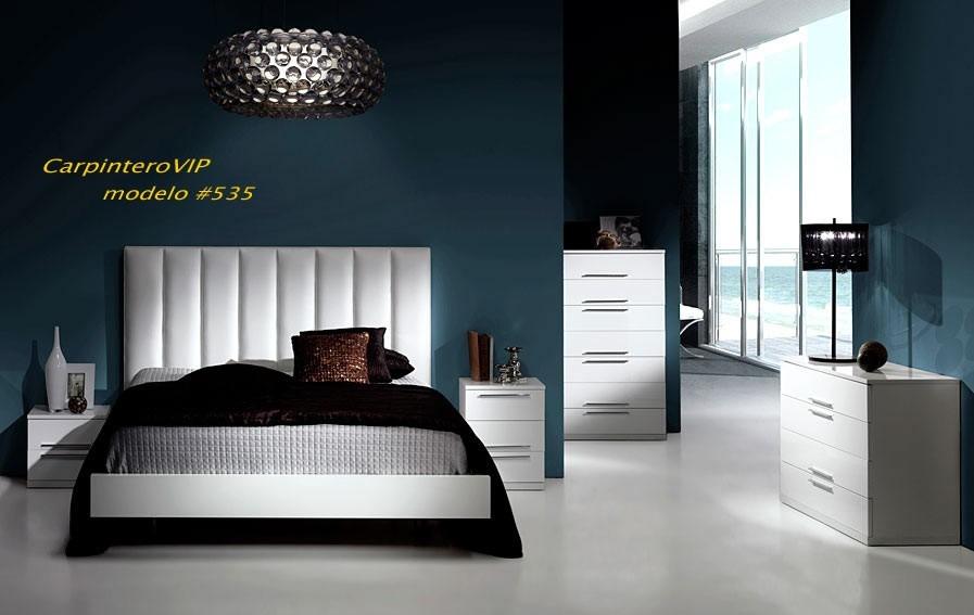 Juego de dormitorio estilo italiano minimalista moderno for Muebles estilo italiano
