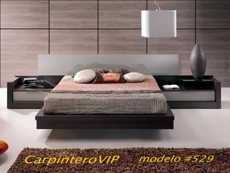 juego de dormitorio estilo italiano minimalista moderno
