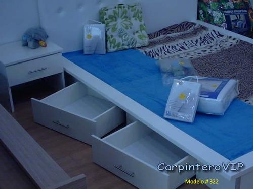 juego de dormitorio estilo minimalista moderno italiano