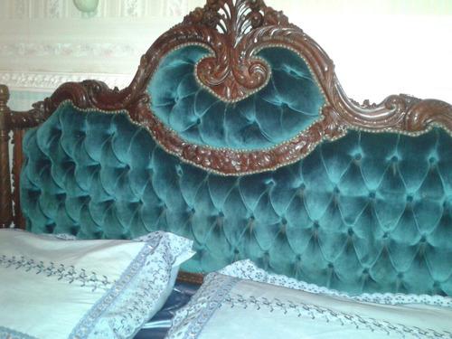 juego de dormitorio frances barroco luis xv xvi cedro macizo