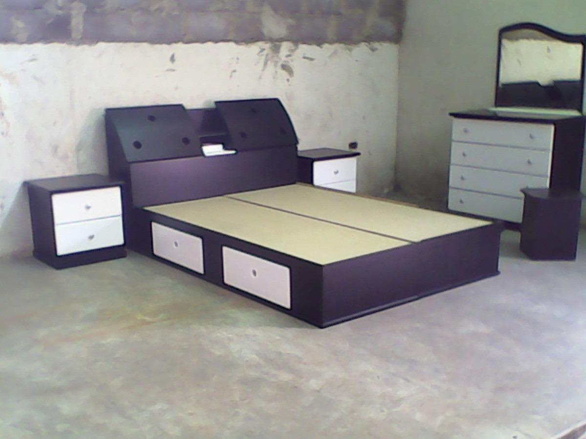 Juego de dormitorio matrimonial queen y king moderno bs for Juego de dormitorio queen