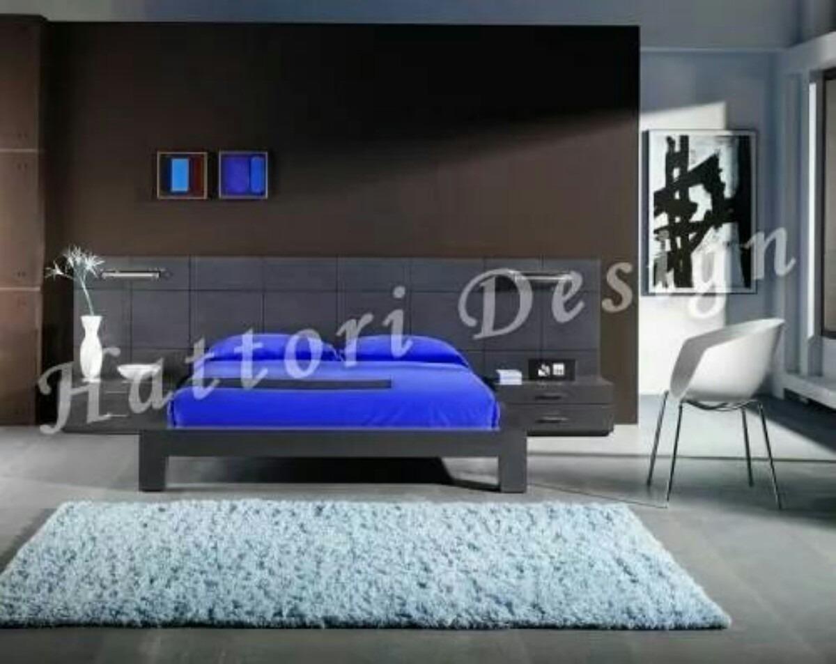 Juego De Dormitorio Minimalista 8 000 00 En Mercado Libre # Muebles Hattori Design
