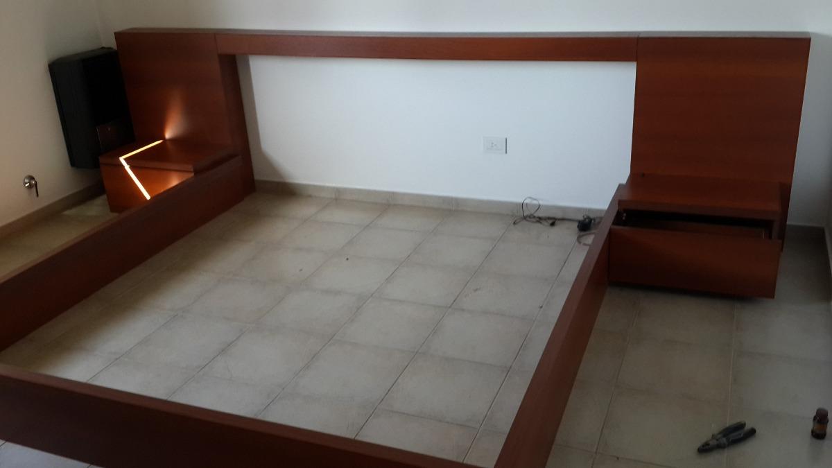Juego De Dormitorio Minimalista 10 700 00 En Mercado Libre # Muebles Hattori Design