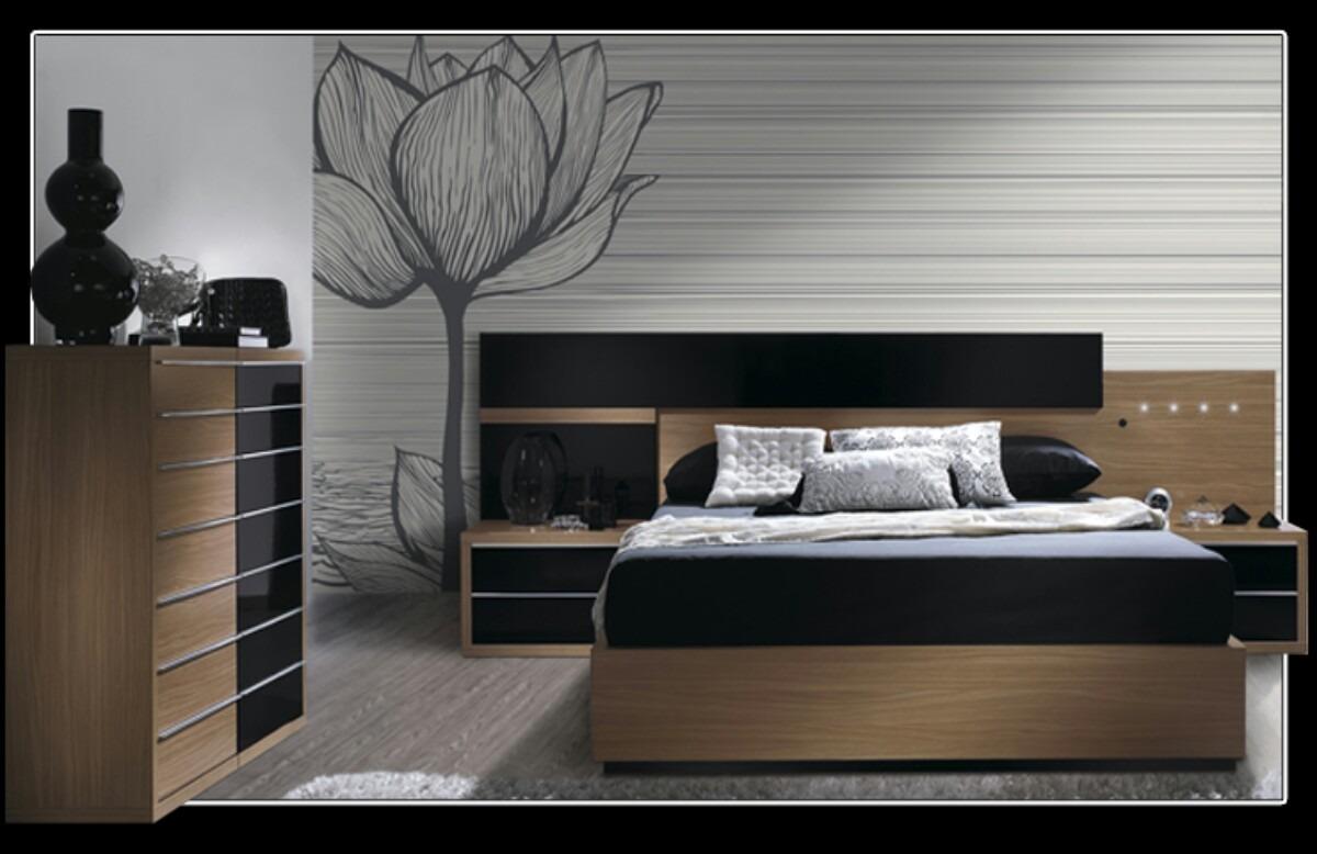 Juego De Dormitorio Minimalista 8 500 00 En Mercado Libre # Muebles Hattori Design